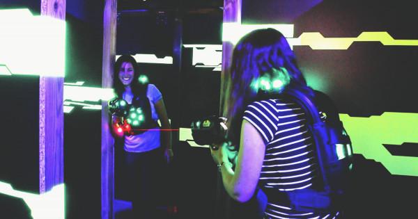 Laser Game au bureau