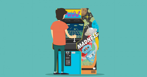 Animation salle d'arcade
