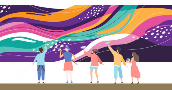 Peignez votre fresque murale