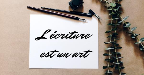 Calligraphie moderne